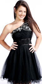 One Shoulder Youth Day Dress   Girls Dresses