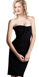 Eye Catching Strapless Party Dress |Womens Day Dresses